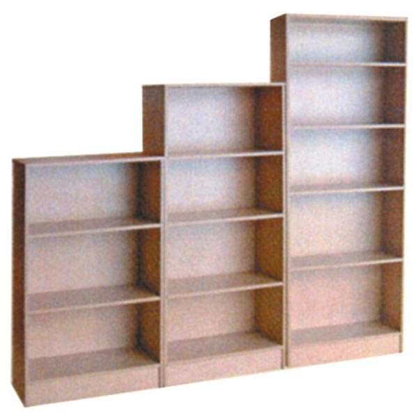 Bookcase units in wood, various manufacturers