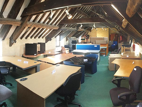 Used office furniture in Cirencester